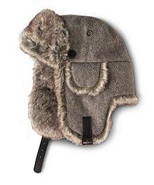 abdaf5c962c56 WindRiver Melton Wool Traditional Aviator Hat ...