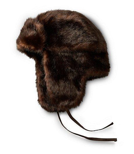 dfdac37e96ba2 WindRiver Faux Fur Aviator Hat