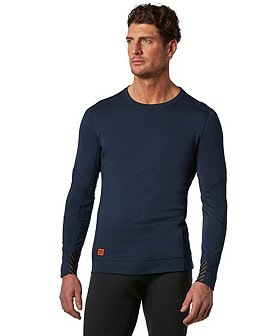 Helly Hansen Workwear Men's Lifa Max Crewneck Thermal Top