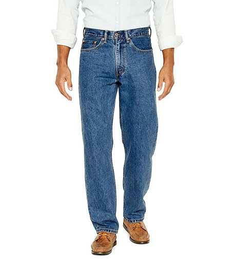 e84a4d35 MEN'S 550 RELAXED FIT JEANS - MEDIUM STONEWASH | Mark's