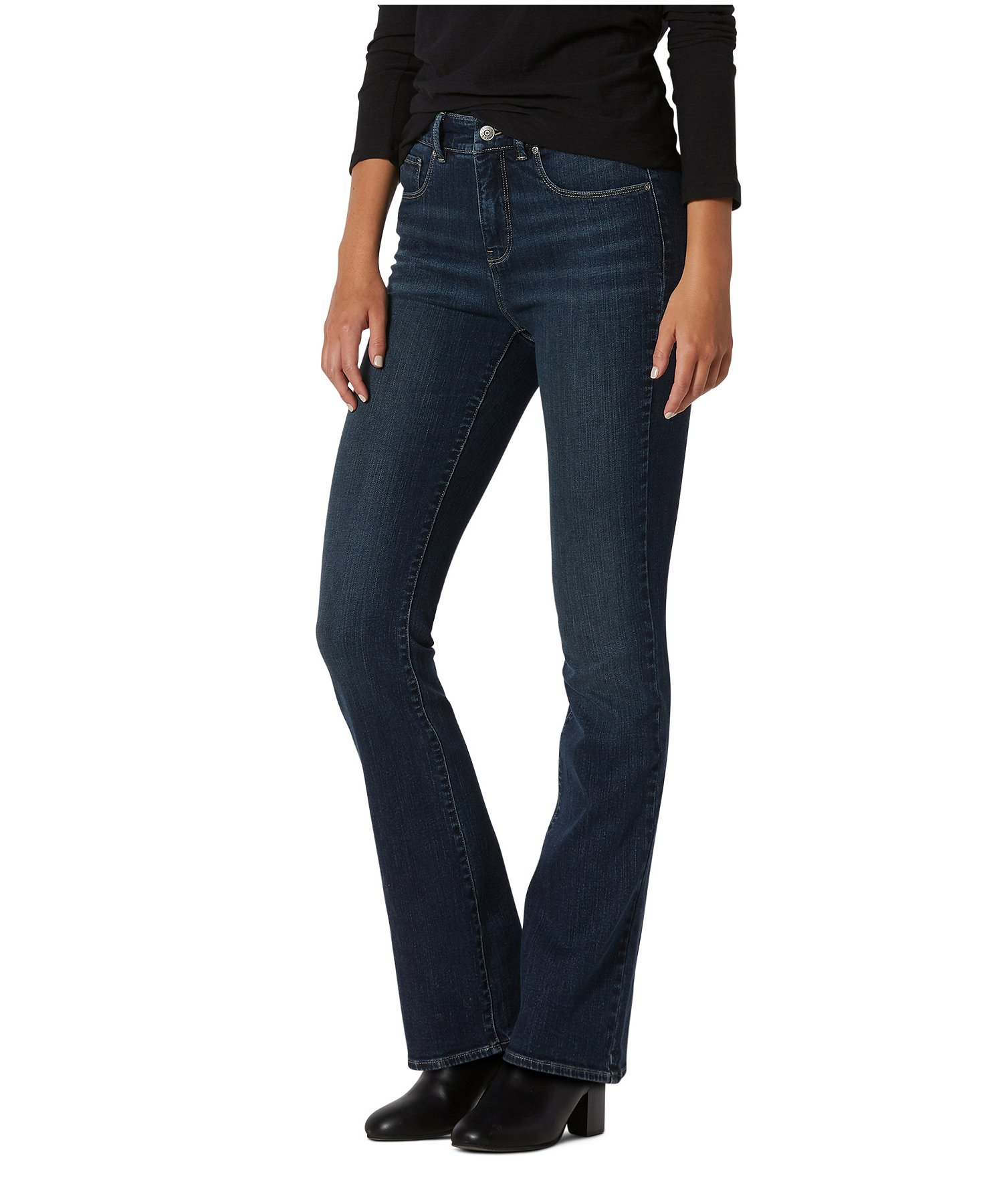 durable modeling low price sale pretty cheap WOMEN'S HANNA HIGH-RISE CURVE-TECH BARELY BOOT JEANS   Mark's