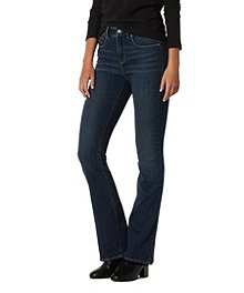 bb8275e259391 Denver Hayes Women s Hanna High-Rise Curve-Tech Barely Boot Jeans ...