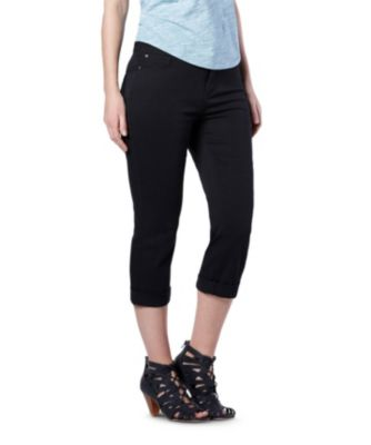 Women's Denver Hayes Curve-Tech Hanna High Rise Capris Black 10