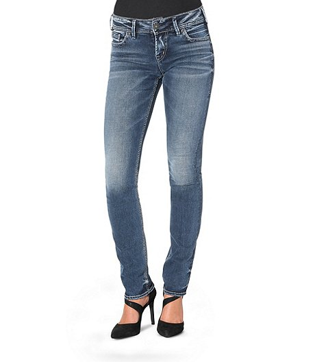 Silver® Jeans Co. Elyse Straight Leg Jeans