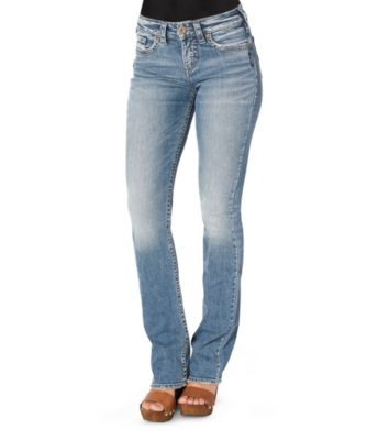 Women's Silver® Jeans Co. Avery Slim Boot Cut Jeans Light Indigo 31