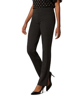 Denver Hayes Women's Janet Straight Pants With Tummy Control