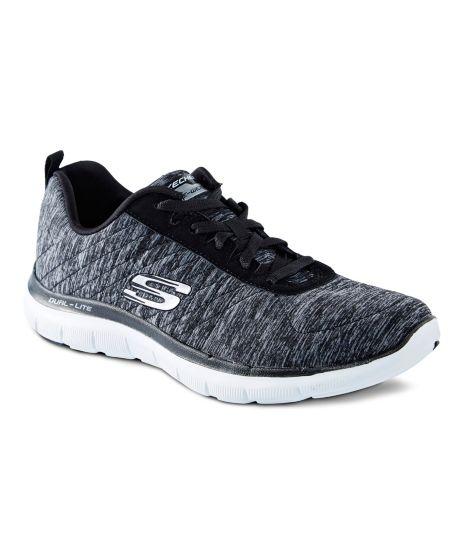Chaussures De Sport Faible Avantage Flex Noir Skechers