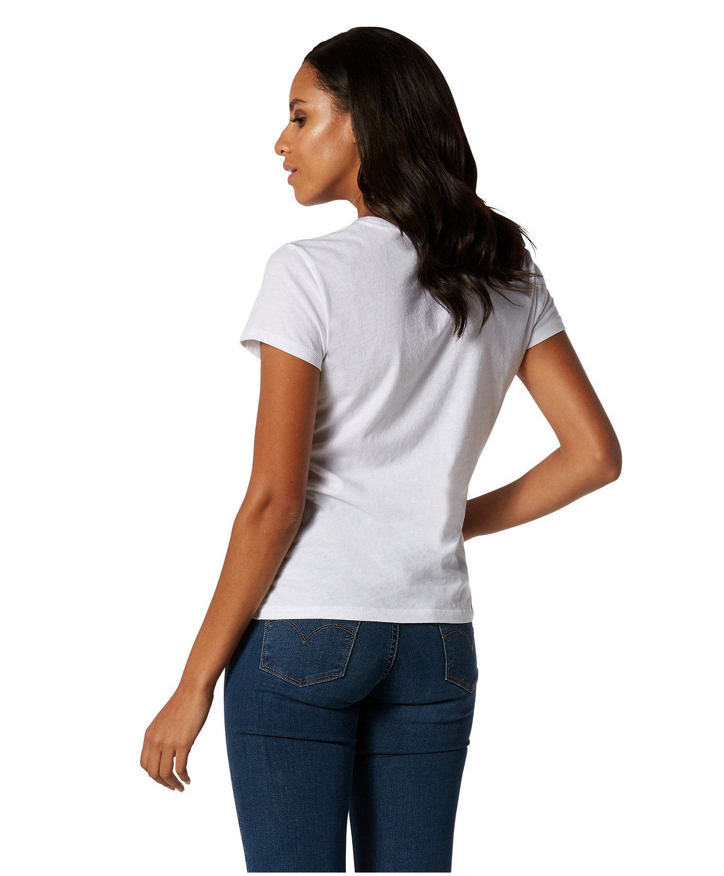 Gant Blanc T-shirt à encolure ras-du-cou