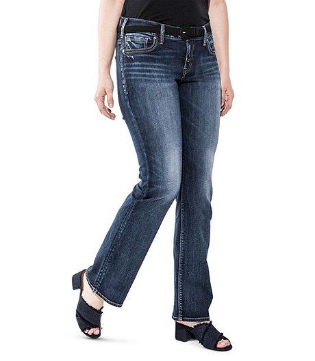 2b2ec4a00cf Silver® Jeans Co. Women s Suki Slim Boot Jeans - Plus Size