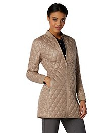 8a4fe85851 Sung Alfred Sung Women s Mid-Length Quilted Jacket ...