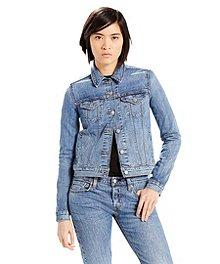 49e9283893 Women s HD2 Water Resistant Travel Jacket · Levi s Women s Classic Trucker  ...