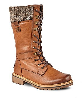 Denver Hayes Women's Laura Lace-Up Boots