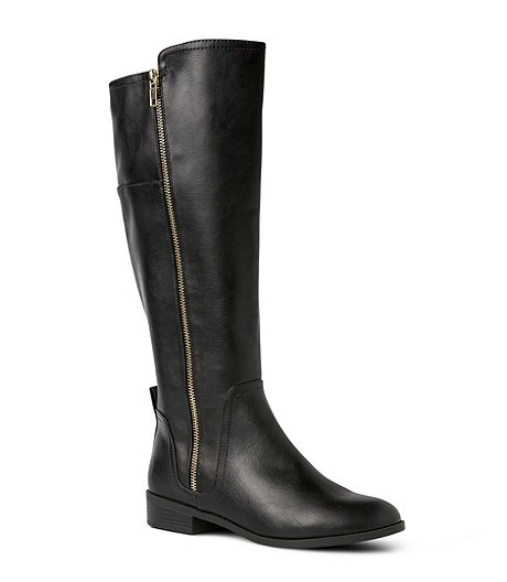 ac9702694c5b7 Women's Mia Full-Zip Knee-High Boots