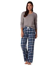 3cb58cd64b Denver Hayes 3-Piece Flannel Pajama Set ...