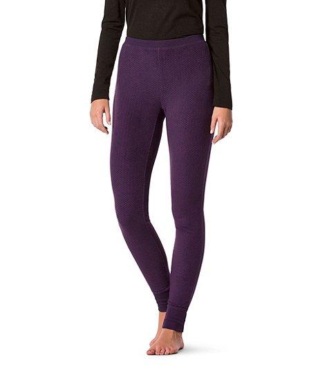 7ae5bd2762a3d Denver Hayes Women s Textured Plush Pajama Leggings