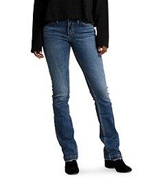 f79de9f6 Silver® Jeans Co. Women's Elyse Slim Boot Mid Rise Jeans ...