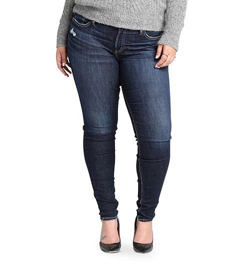 a41b853293d Silver® Jeans Co. Women's Elyse Skinny Jeans - Plus Size