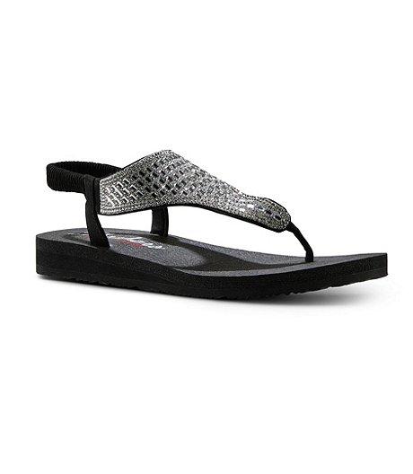 c0b206e5027 Skechers Women s Meditation Sling Back Yoga Sandals