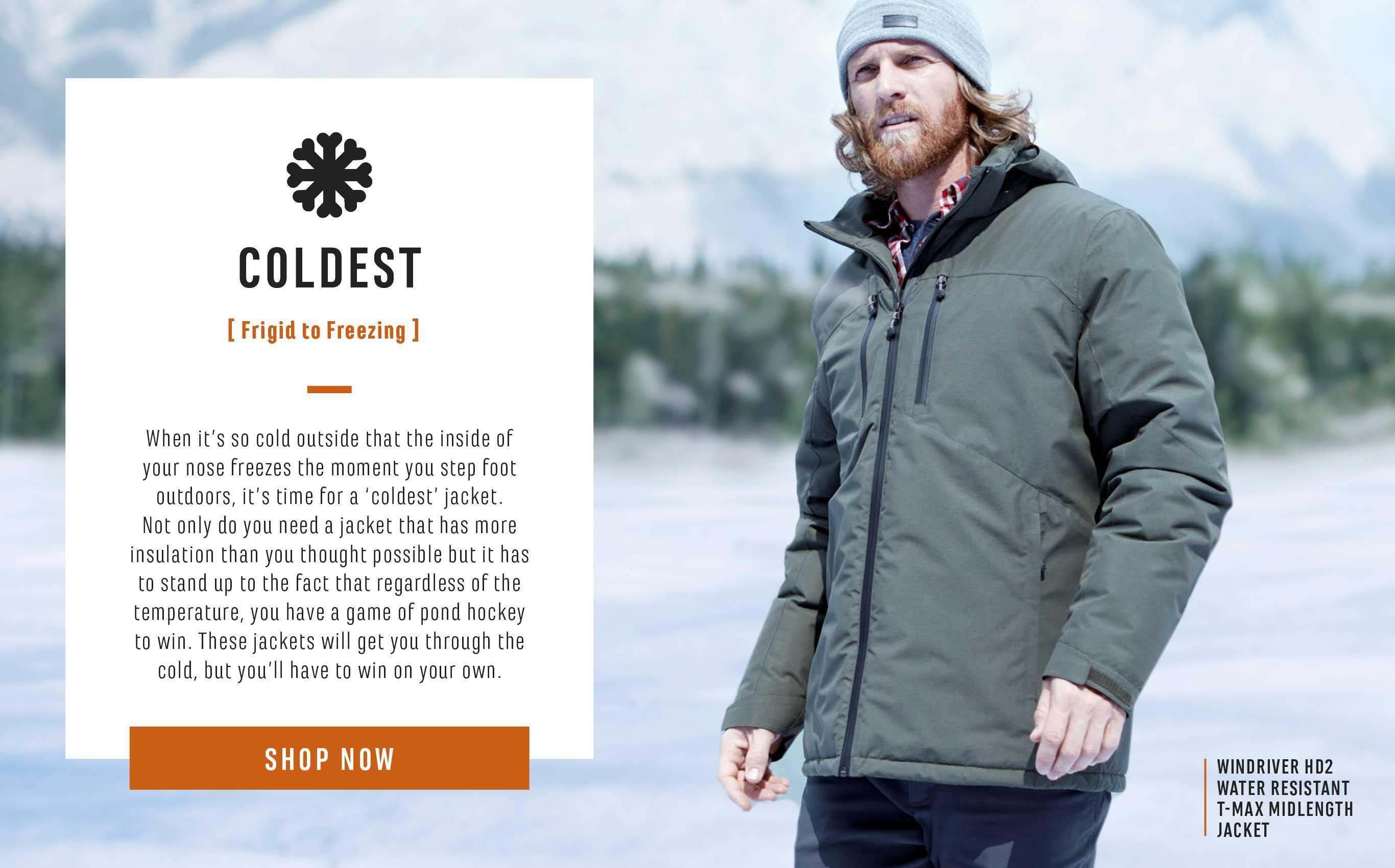 Colder Weather Jackets