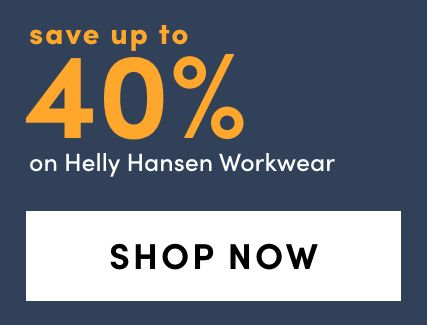 Save up to 40% on Helly Hansen Workwear Outerwear + Bib Overall