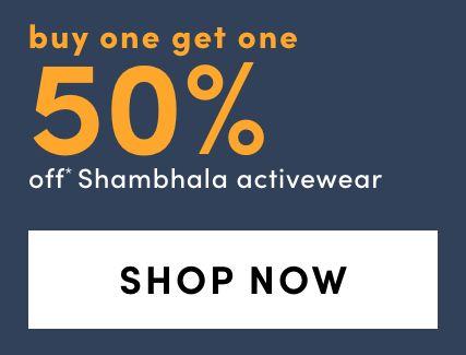 Shambhala Activewear - BOGO 50%