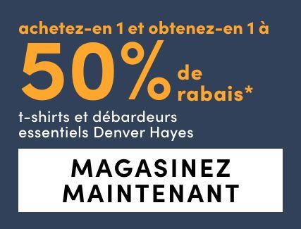 Women's Denver Hayes Essential T-Shirts + Tanks - BOGO 50%