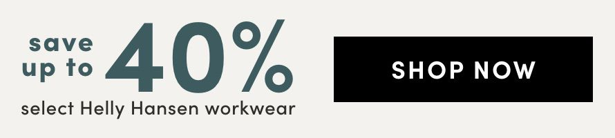 Select Helly Hansen Workwear : Save up to 40%