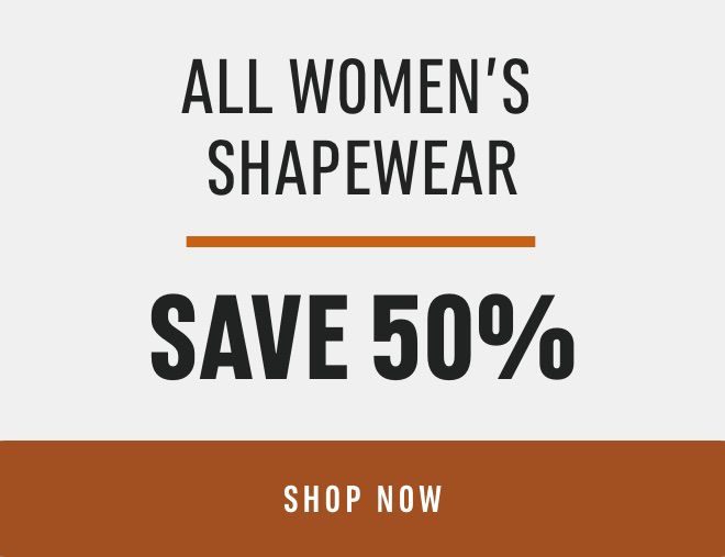 All Women's Shapewear: Save 50%