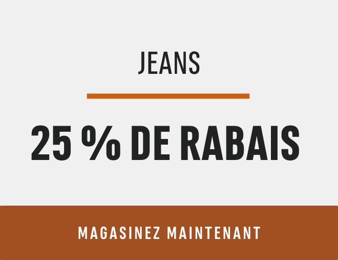 Jeans Save 25%