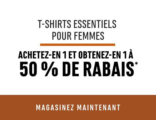 Women's Denver Hayes Essential T-Shirts + Tanks - BOGO 50%*