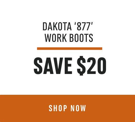 Dakota '877' Work Boots, Save $20