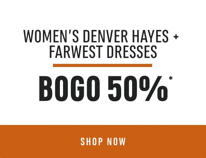 Women's Denver Hayes + FarWest Dresses: Buy One Get One 50% Off*