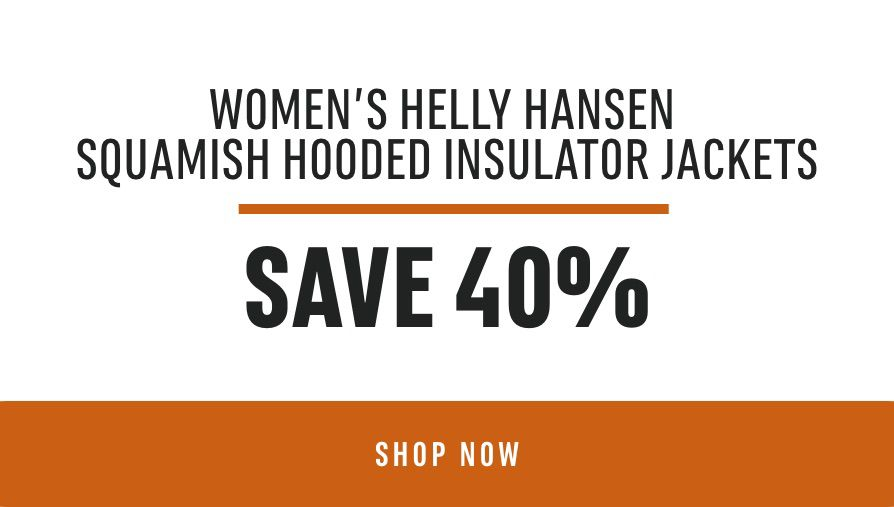 Women's Helly Hansen SQUAMISH HOODED INSULATOR Jackets - Save 40%