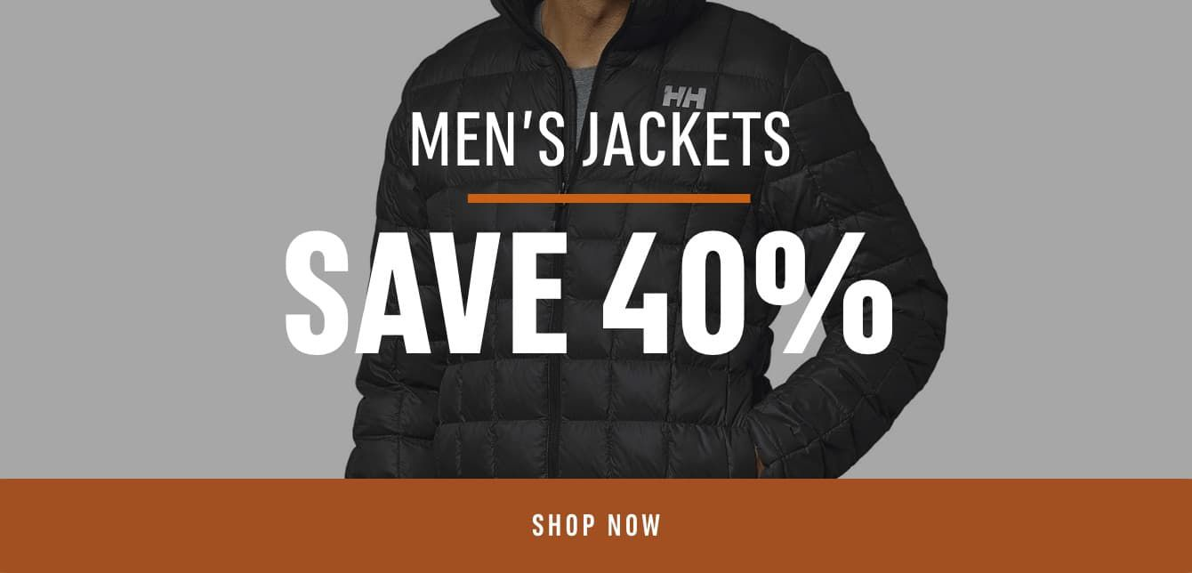 Men's Jackets Save 40%