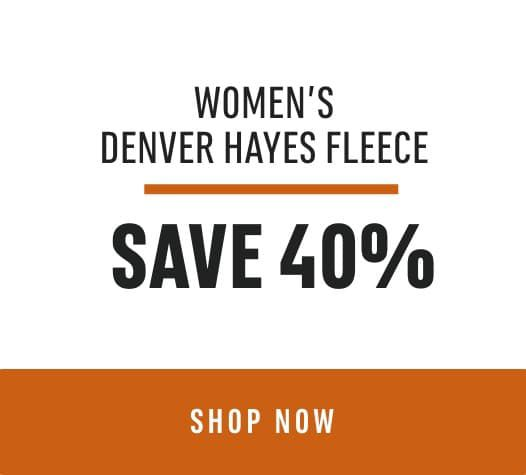 Women's Denver Hayes Fleece Save 40%