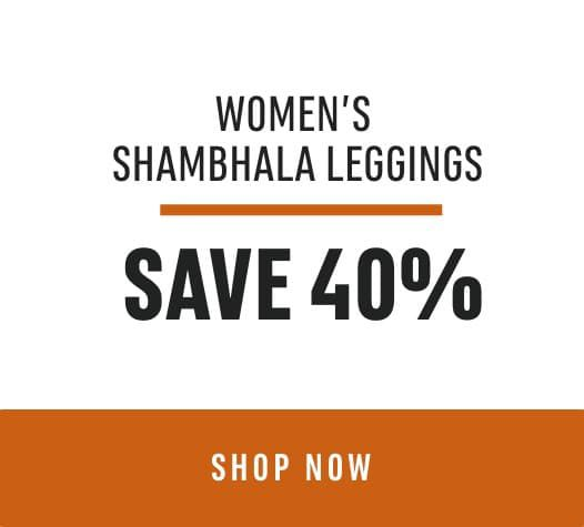 Women's Shambhala Leggings Save 40%