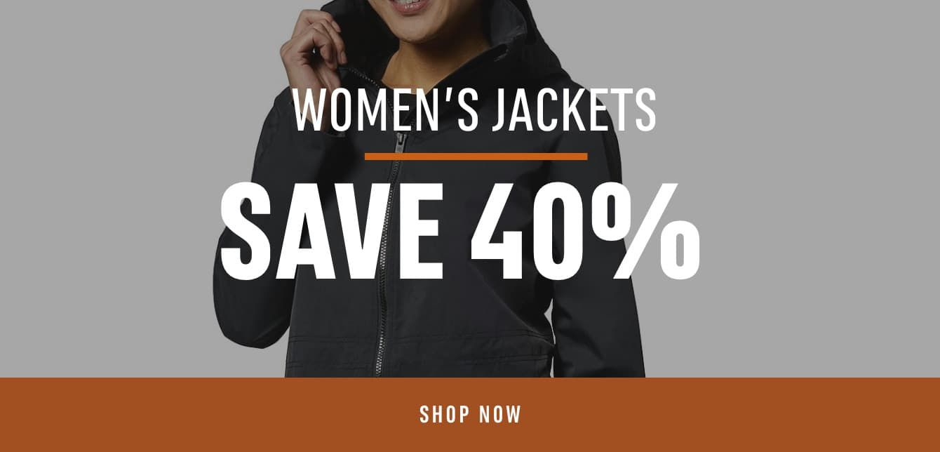 Women's Jackets: Save 40%