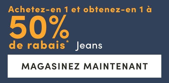 BOGO 50% OFF* Jeans