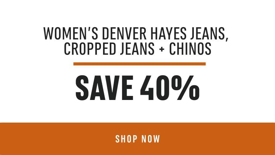 Women's Denver Hayes Jeans, Cropped Jeans & Chinos: Save 40%