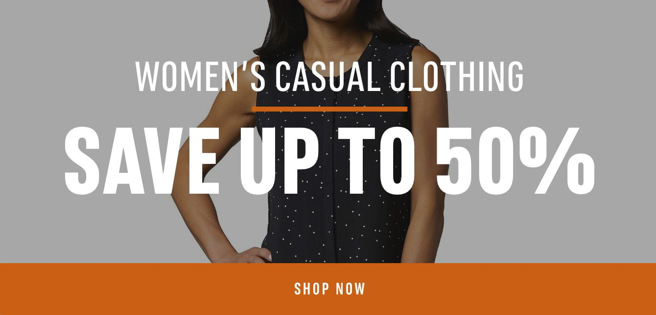 Women's Casual Clothing Save Up to 50%