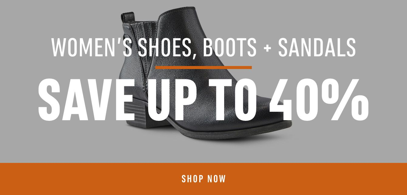 Women's Shoes, Boots & Sandals: Save up to 40%
