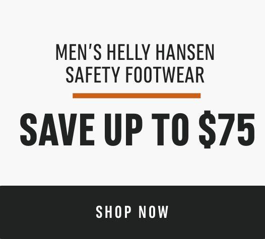 Men's Helly Hansen Safety Footwear: Save Up to $75