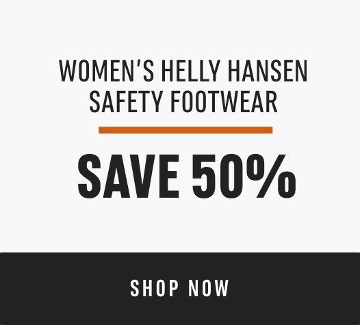Women's Helly Hansen Safety Footwear: Save 50%