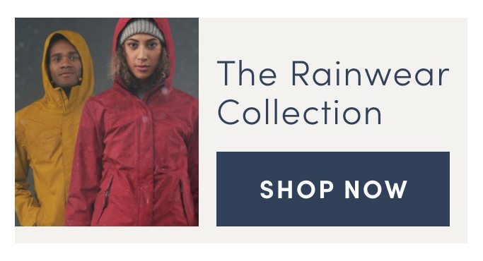 The Rainwear Collection. Shop Now