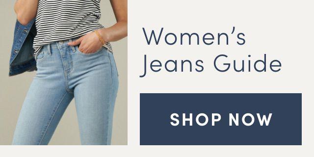 Women's Jeans Guide