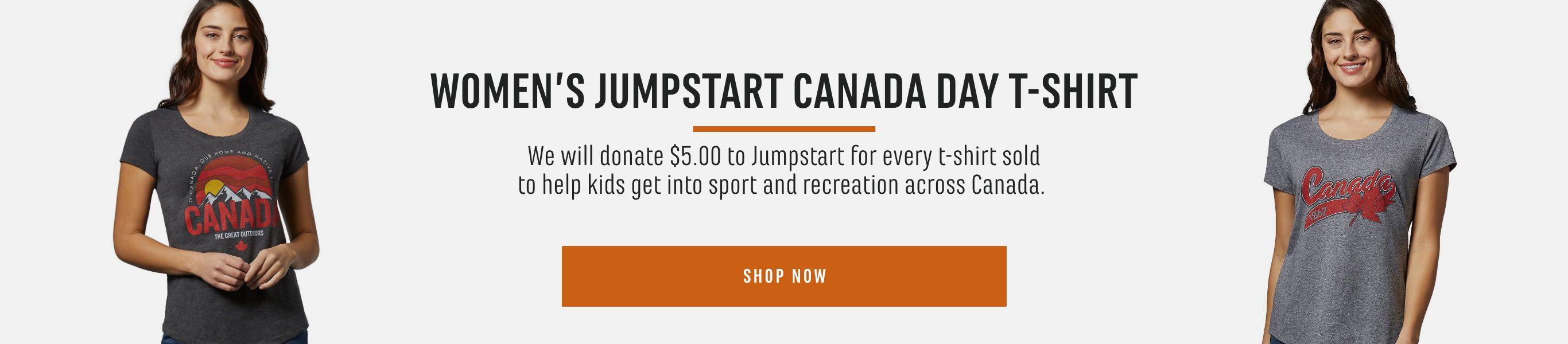 Women's Jumpstart Canada Day T-Shirt