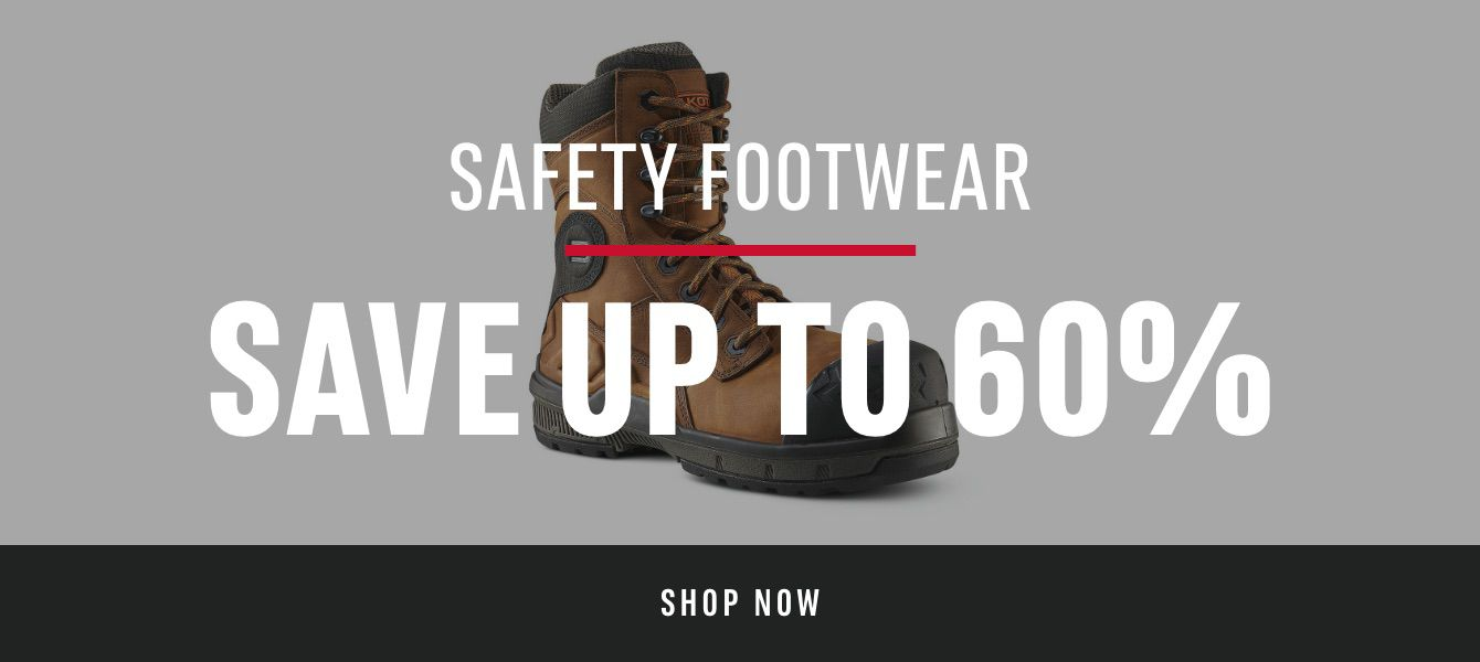 Safety Footwear: Save Up To 60%