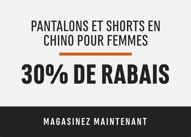 Women's DH Chino Pants + Shorts: Save 30%