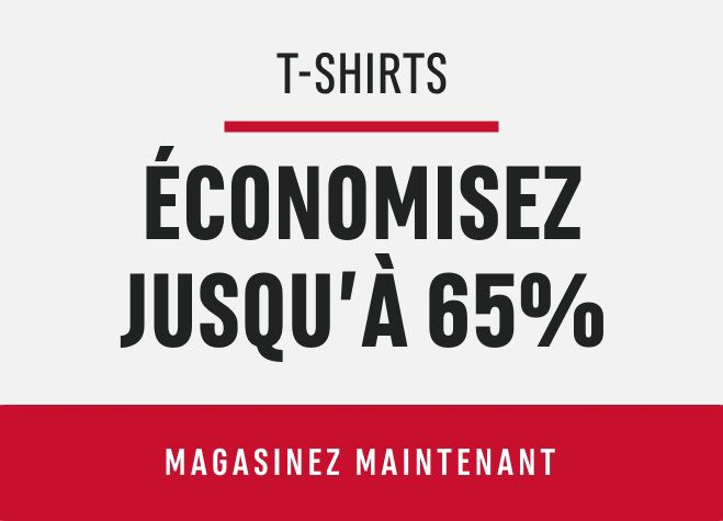 T-Shirts: Save Up to 65%