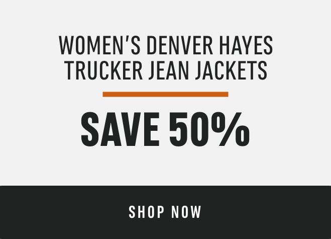 Women's Denver Hayes Trucker Jean Jackets: Save 50%